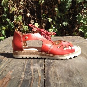 Darling Red Sandals